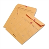 Quality Park Brown Kraft Kraft String & Button Interoffice Envelope, 10 x 13, 100/Carton
