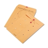 Quality Park Brown Kraft Kraft String & Button Interoffice Envelope, 10 x 13, 100/Carton