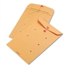 Brown Kraft String & Button Interoffice Envelope, 10 x 15, 100/Carton