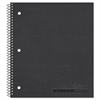 National Three Subject Notebook, College/Margin Rule, 11 x 8 7/8, WE, 120 Sheets