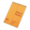 Standard Spiral Steno Book, Gregg Rule, 6 x 9, Green, 80 Sheets