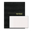 Roll Call Book, 9-1/2 x 7-7/8, Black, 48 Pages