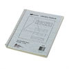 National Duplicate Lab Notebook, Quadrille Rule, 11 x 9, White/Yellow, 100 Sheets