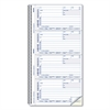 Rediform Telephone Message Book, 5 x 2 3/4, Two-Part Carbonless, 400 Sets