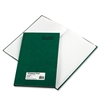 Emerald Series Account Book, Green Cover, 150 Pages, 12 1/4 x 7 1/4