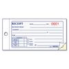 Rediform Small Money Receipt Book, 5 x 2 3/4, Carbonless Duplicate, 50 Sets/Book