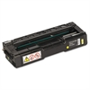 Ricoh 406044 Toner, 2000 Page-Yield, Yellow