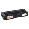 Ricoh 406347 Toner, 2500 Page-Yield, Yellow