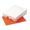 Kaleidoscope Multipurpose Colored Paper, 24lb, 8-1/2 x 11, Pumpkin, 500 Shts/Rm