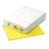 Pacon Kaleidoscope Multipurpose Colored Paper, 24lb, 8-1/2 x 11, Lemon Yellow, 500/Rm