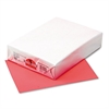 Pacon Kaleidoscope Multipurpose Colored Paper, 24lb, 8-1/2 x 11, Coral Red, 500/Ream