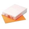 Kaleidoscope Multipurpose Colored Paper, 24lb, 8-1/2 x 11, Orange, 500/Ream