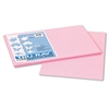 Pacon Tru-Ray Construction Paper, 76 lbs., 12 x 18, Pink, 50 Sheets/Pack