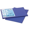 Pacon Tru-Ray Construction Paper, 76 lbs., 12 x 18, Royal Blue, 50 Sheets/Pack