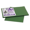 Pacon Tru-Ray Construction Paper, 76 lbs., 12 x 18, Dark Green, 50 Sheets/Pack