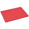 Tru-Ray Construction Paper, 76 lbs., 18 x 24, Red, 50 Sheets/Pack