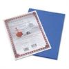 Pacon Riverside Construction Paper, 76 lbs., 9 x 12, Dark Blue, 50 Sheets/Pack
