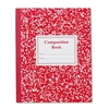Roaring Spring Grade School Ruled Composition Book, 9 3/4 x 7 3/4, Red Cover, 50 Pages