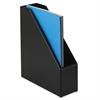 Rolodex Wood Tones Magazine File, 3 1/2 x 10 1/4 x 11 3/4, Black