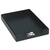 Wood Tones Legal Desk Tray, Wood, Black