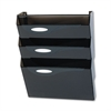 Rubbermaid Classic Hot File Wall File Systems, Letter, Three Pockets, Smoke