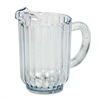 Rubbermaid Commercial Bouncer Plastic Pitcher, 60oz, Clear