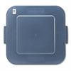 Rubbermaid Commercial Square Brute Lid, 26 x 24 x 2 1/5, Gray