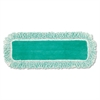 "Dust Pad w/Fringe, Microfiber, 18"" Long, Green"