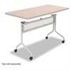 Impromptu Series Mobile Training Table Base, 37-1/2w x 24d x 28h, Silver