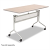 Safco Impromptu Series Mobile Training Table Base, 49-1/2w x 24d x 28h, Silver