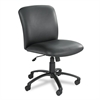 Uber Series Big & Tall Swivel/Tilt Mid Back Chair, Vinyl, Black