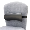 Safco Lumbar Support Memory Foam Backrest, 14-1/2w x 3-3/4d x 6-3/4h, Black