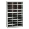Safco Steel Project Center Floor Organizer, 30 Pockets, 37 1/2 x 15 3/4 x 60