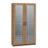 Safco Literature Organizer, Particleboard/Polycarbonite, 60 Compartments, Medium Oak