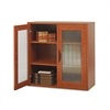 Après Two-Door Cabinet, 29-3/4w x 11-3/4d x 29-3/4h, Cherry