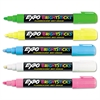 EXPO Bright Sticks Wet-Erase Fluorescent Marker Set, Bullet Tip, Assorted