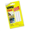 UHU Tac Adhesive Putty, Removable/Reusable, Nontoxic, 2.12 oz, 80 pieces/Pack
