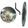 "See All 160 degree Convex Security Mirror, 12"" dia."