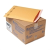 Jiffylite Self Seal Mailer, #5, 10 1/2 x 16, Golden Brown, 25/Carton