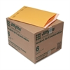 Jiffylite Self Seal Mailer, #6, 12 1/2 x 19, Golden Brown, 50/Carton