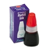 Refill Ink for Stamps, 10ml-Bottle, Red