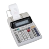Sharp EL-1801V Two-Color Printing Calculator, Black/Red Print, 2.1 Lines/Sec