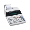 Sharp EL2192RII Two-Color Roller Printing Calculator, Black/Red Print, 3 Lines/Sec