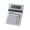Sharp EL-310TB Twin Powered Semi-Desktop Calculator, 8-Digit LCD