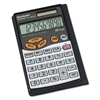 EL480SRB Handheld Business Calculator, 10-Digit LCD