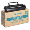Sharp FO45ND Toner/Developer Cartridge, 6500 Page-Yield, Black