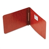 "ACCO Pressboard Report Cover, Prong Clip, 5-1/2 x 8-1/2, 2"" Capacity, Red"