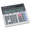 Sharp QS-2130 Compact Desktop Calculator, 12-Digit LCD