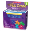 Scholastic Trait Crate, Grade 5, Seven Books, Posters, Folders, Transparencies, Stickers
