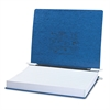 "ACCO PRESSTEX Covers w/Storage Hooks, 6"" Cap, 14 7/8 x 11, Dark Blue"